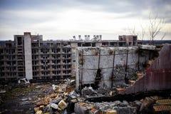 Costruzione abbandonata Fotografie Stock Libere da Diritti