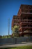 Costruzione abbandonata degli uffici in Sant Cugat del Valles Barcelon Immagine Stock Libera da Diritti