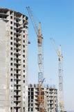 Costruzione ad alta altitudine di Builded Immagine Stock