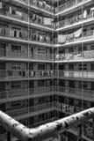 Costruzione ad alta densità in Hong Kong Fotografie Stock Libere da Diritti