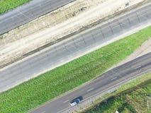 Costruzione aerea del passaggio da uno stato all'altro 10 I10 della strada principale Immagine Stock Libera da Diritti