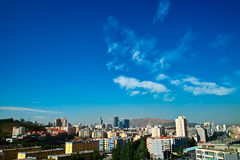 Costruzione alla città di Urumqi Fotografia Stock