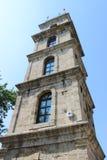 Costruzione alta storica della torre di orologio immagine stock