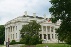 Costruzione americana nel Washington DC, U.S.A. della croce rossa Fotografie Stock Libere da Diritti