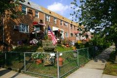 costruzione americana residenziale Fotografia Stock Libera da Diritti