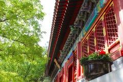 Costruzione antica cinese Immagini Stock Libere da Diritti