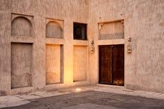 Costruzione araba antica di stile Fotografia Stock