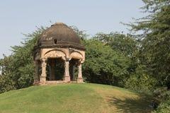 Costruzione archeologica, parco archeologico di Mehrauli, Nuova Delhi Immagine Stock Libera da Diritti