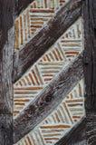 Costruzione armata in legno francese Fotografia Stock Libera da Diritti