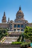 Costruzione a Barcellona Spagna Fotografia Stock