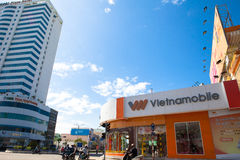 Costruzione bianca del Vietnam Danang Fotografie Stock