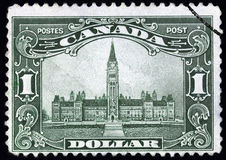 Costruzione canadese del Parlamento Immagini Stock Libere da Diritti