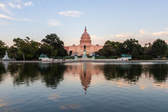 Costruzione capitala nel Washington DC, U.S.A. degli Stati Uniti Fotografie Stock Libere da Diritti