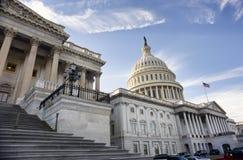 Costruzione capitale americana Fotografie Stock