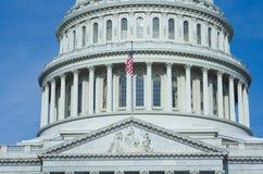 Costruzione capitale degli Stati Uniti Fotografia Stock
