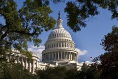 Costruzione capitale degli Stati Uniti. Fotografia Stock