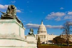 Costruzione capitale degli Stati Uniti, Washington, DC Fotografie Stock Libere da Diritti