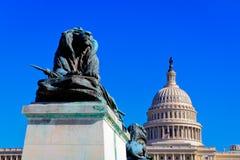 Costruzione capitale degli Stati Uniti, Washington, DC Fotografia Stock Libera da Diritti