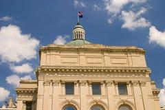 Costruzione capitale dell'Indiana fotografia stock