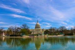 Costruzione capitale, Washington DC Immagine Stock Libera da Diritti