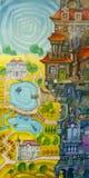 Costruzione capricciosa royalty illustrazione gratis