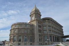 Costruzione centenaria a Montevideo Fotografie Stock