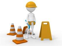 In costruzione. Centro di manutenzione royalty illustrazione gratis