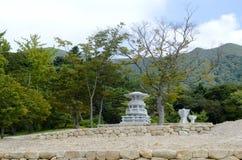 Costruzione cerimoniale coreana tradizionale Immagini Stock