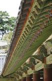 Costruzione cerimoniale coreana tradizionale Immagini Stock Libere da Diritti