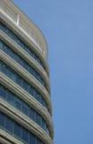 Costruzione in cielo blu Fotografia Stock Libera da Diritti