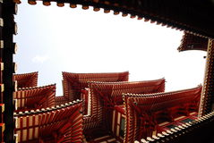 Costruzione cinese fotografia stock libera da diritti