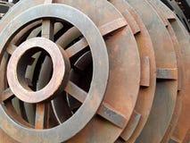 Costruzione circolare del metallo Fotografia Stock Libera da Diritti