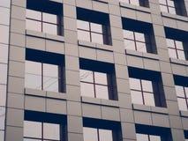 Costruzione con le finestre Fotografia Stock
