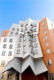 Costruzione concentrare di Stata del Frank O Gehry fotografie stock libere da diritti