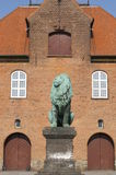 Costruzione a Copenhaghen Fotografia Stock