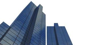 costruzione corporativa Immagine Stock Libera da Diritti