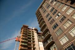 Costruzione in costruzione Fotografia Stock