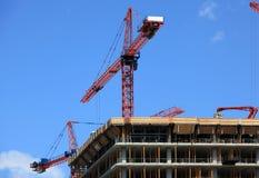 Costruzione in costruzione Fotografie Stock Libere da Diritti