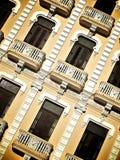 Costruzione cubana gialla Immagine Stock Libera da Diritti