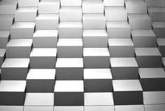Costruzione in cubi fotografie stock
