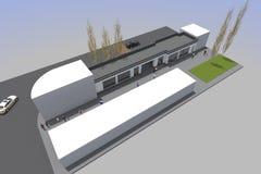 costruzione 3d Immagini Stock Libere da Diritti
