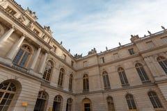 Costruzione d'angolo grandangolare di Versailles Immagini Stock Libere da Diritti