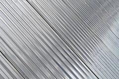 Costruzione d'argento astratta del metallo, industria moderna, Fotografia Stock Libera da Diritti