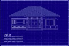 costruzione 3D sul modello Fotografie Stock Libere da Diritti