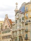 Costruzione da Gaudi a Barcellona 15 Fotografia Stock