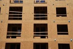 Costruzione degli alloggi nuovi per gli appartamenti Immagini Stock