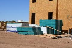 Costruzione degli alloggi nuovi per gli appartamenti Immagini Stock Libere da Diritti