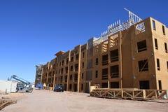 Costruzione degli alloggi nuovi per gli appartamenti Immagine Stock Libera da Diritti
