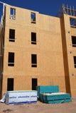 Costruzione degli alloggi nuovi per gli appartamenti Immagine Stock