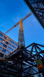 Costruzione degli edifici Immagine Stock Libera da Diritti